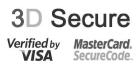Payement en toute sécurité grâce à 3D Secure