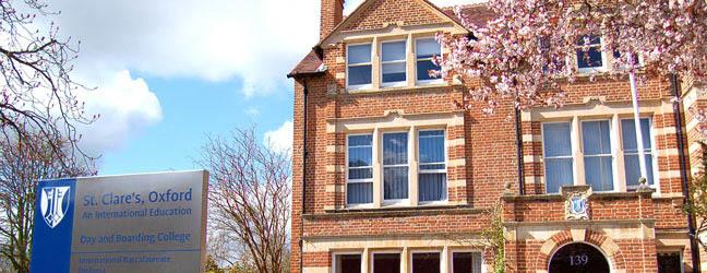 Camp linguistique d'été junior St Clare's Oxford - Banbury Road Campus (Oxford en Angleterre)